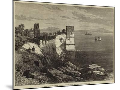 The Marble Tower, Castle of the Seven Towers, Constantinople--Mounted Giclee Print