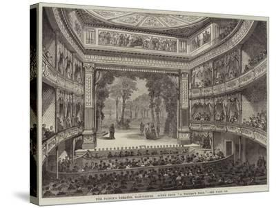 The Prince's Theatre, Manchester, Scene from A Winter's Tale--Stretched Canvas Print