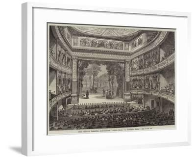 The Prince's Theatre, Manchester, Scene from A Winter's Tale--Framed Giclee Print
