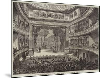 The Prince's Theatre, Manchester, Scene from A Winter's Tale--Mounted Giclee Print
