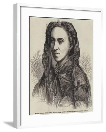 Mademoiselle Csillag, of the Royal Italian Opera, Covent-Garden--Framed Giclee Print