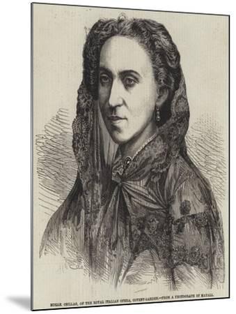 Mademoiselle Csillag, of the Royal Italian Opera, Covent-Garden--Mounted Giclee Print