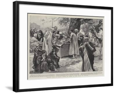 Native Life in Egypt, Scene in Cairo on the Feast of Bairam--Framed Giclee Print
