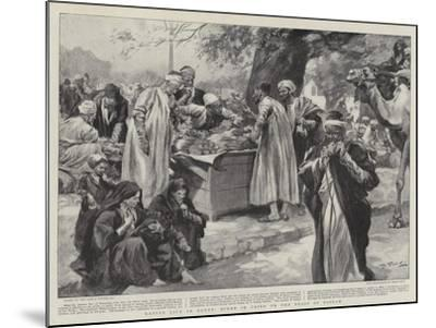 Native Life in Egypt, Scene in Cairo on the Feast of Bairam--Mounted Giclee Print