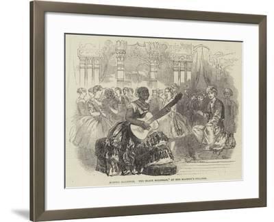 Senora Martinez, The Black Malibran, at Her Majesty's Theatre--Framed Giclee Print