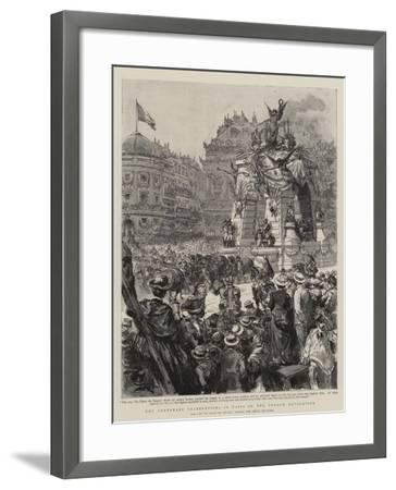 The Centenary Celebrations in Paris of the French Revolution--Framed Giclee Print