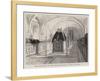 The Mausoleum of the Portuguese Royal Family at Lisbon--Framed Giclee Print