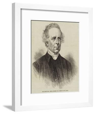 The Right Reverend Joshua Hughes, Dd, Bishop of St Asaph--Framed Giclee Print