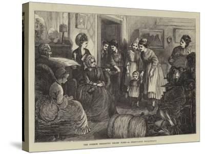 The French Peasantry Relief Fund, a Charitable Masquerade--Stretched Canvas Print