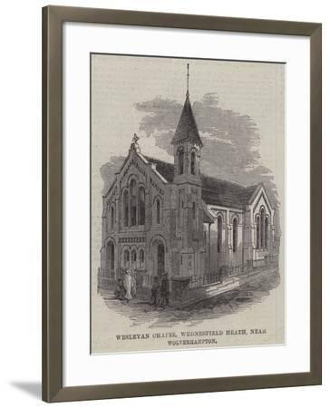 Wesleyan Chapel, Wednesfield Heath, Near Wolverhampton--Framed Giclee Print
