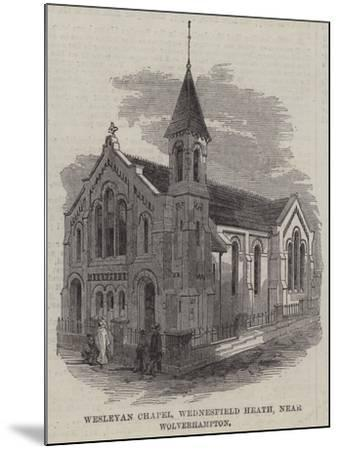 Wesleyan Chapel, Wednesfield Heath, Near Wolverhampton--Mounted Giclee Print