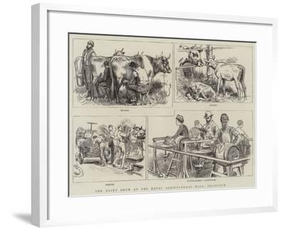 The Dairy Show at the Royal Agricultural Hall, Islington--Framed Giclee Print
