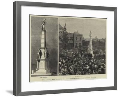 The Zulu War Memorial at Pietermaritzburg, South Africa--Framed Giclee Print