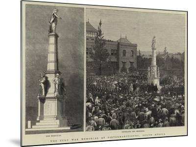 The Zulu War Memorial at Pietermaritzburg, South Africa--Mounted Giclee Print
