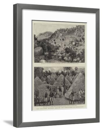 The Collision Between English and Portuguese in Manicaland--Framed Giclee Print