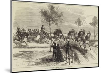 The Prince of Wales at Seville, Driving a Spanish Turn-Out--Mounted Giclee Print