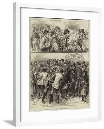 The Roast Beef of Old England, a Sketch at the Cattle Show--Framed Giclee Print