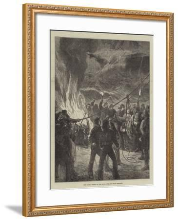 The Gales, Wreck of the Royal Adelaide Near Portland--Framed Giclee Print