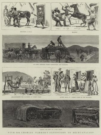 With Sir Charles Warren's Expedition to Bechuanaland--Framed Giclee Print