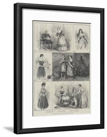 Jenny Lind in Some of Her Most Celebrated Characters--Framed Giclee Print