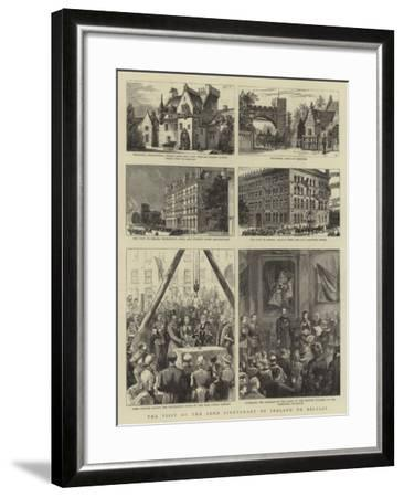 The Visit of the Lord Lieutenant of Ireland to Belfast--Framed Giclee Print