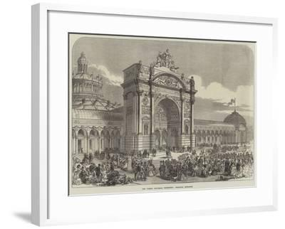 The Vienna Universal Exhibition, Principal Entrance--Framed Giclee Print