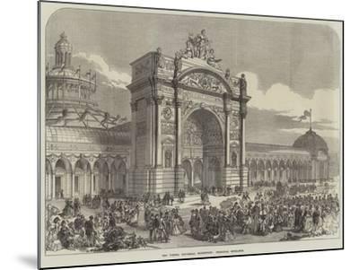 The Vienna Universal Exhibition, Principal Entrance--Mounted Giclee Print