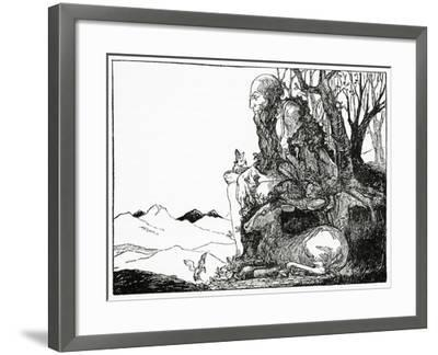 Shiva, from 'The Book of Myths' by Amy Cruse, 1925--Framed Giclee Print