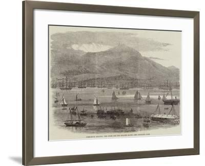 Hong-Kong Regatta, the Start for the Scratch Match--Framed Giclee Print