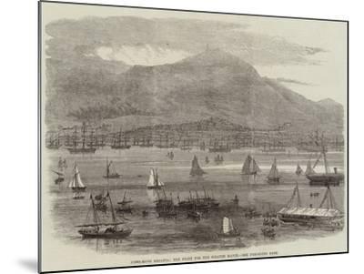 Hong-Kong Regatta, the Start for the Scratch Match--Mounted Giclee Print