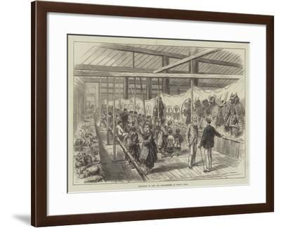 Exhibition of Arts and Manufactures at Kiyoto, Japan--Framed Giclee Print