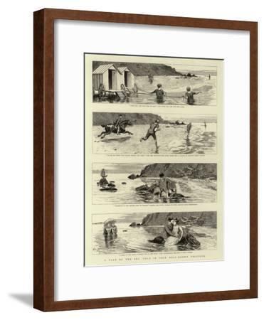 A Tale of the Sea, Told in Four Well-Known Proverbs--Framed Giclee Print