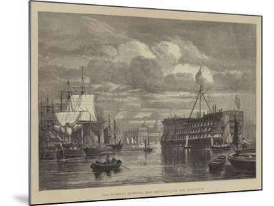 The Seamen's Hospital Ship Dreadnought, Off Greenwich--Mounted Giclee Print