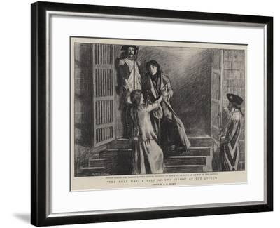 The Only Way, a Tale of Two Cities at the Lyceum--Framed Giclee Print