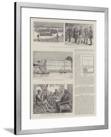 The Expedition for the Relief of General Gordon--Framed Giclee Print