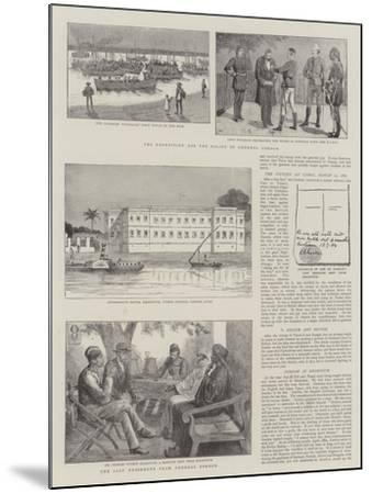 The Expedition for the Relief of General Gordon--Mounted Giclee Print