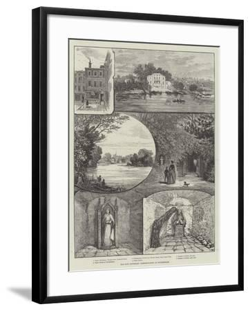 The Pope Centenary Commemoration at Twickenham--Framed Giclee Print