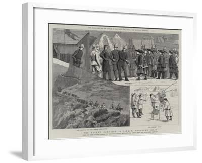 The Recent Campaign in Sikkim, Northern India--Framed Giclee Print