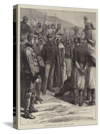 The French in Tunis, a Military Sentence of Death--Stretched Canvas Print