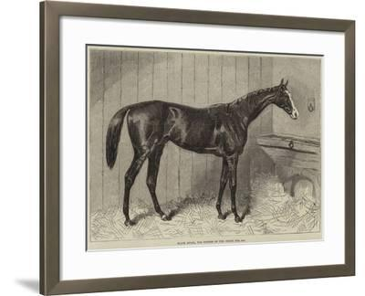 Blair Athol, the Winner of the Derby for 1864--Framed Giclee Print