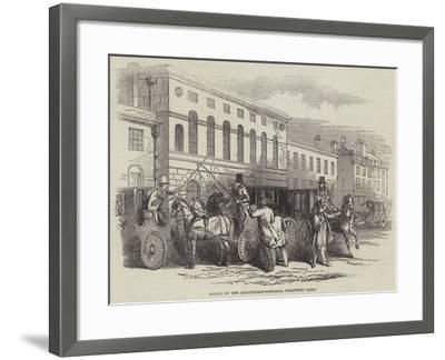 Office of the Accountant-General, Chancery Lane--Framed Giclee Print