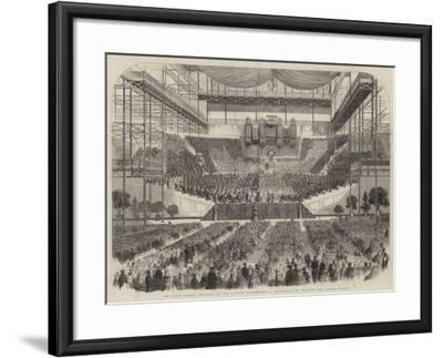 The Great Handel Festival at the Crystal Palace--Framed Giclee Print