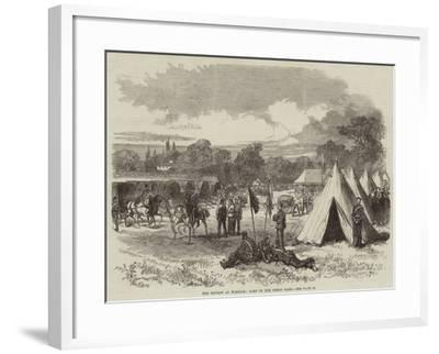 The Review at Windsor, Camp in the Great Park--Framed Giclee Print