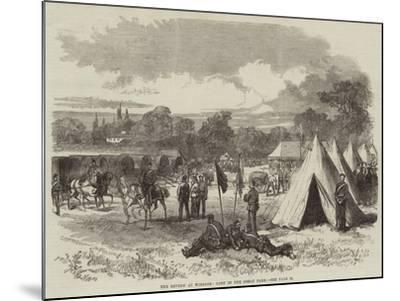The Review at Windsor, Camp in the Great Park--Mounted Giclee Print