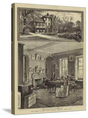 The Home of the Late Charles Darwin, Down, Kent--Stretched Canvas Print