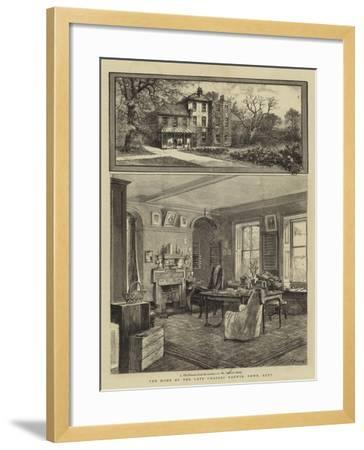The Home of the Late Charles Darwin, Down, Kent--Framed Giclee Print