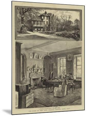 The Home of the Late Charles Darwin, Down, Kent--Mounted Giclee Print