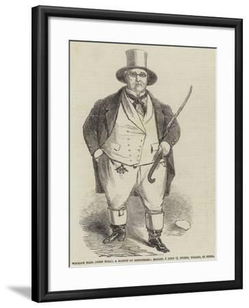 William Ball (John Bull), a Native of Shropshire--Framed Giclee Print