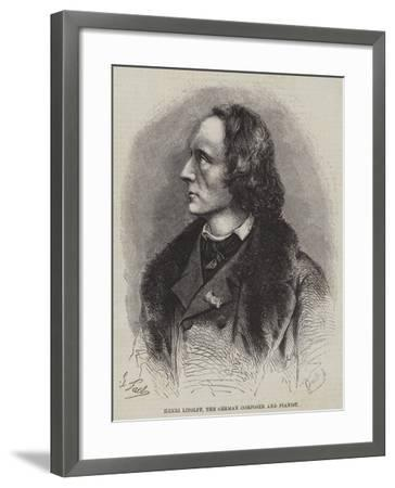 Henri Litolff, the German Composer and Pianist--Framed Giclee Print