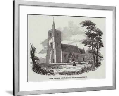 New Church of St Mary, Thundridge, Hertfordshire--Framed Giclee Print